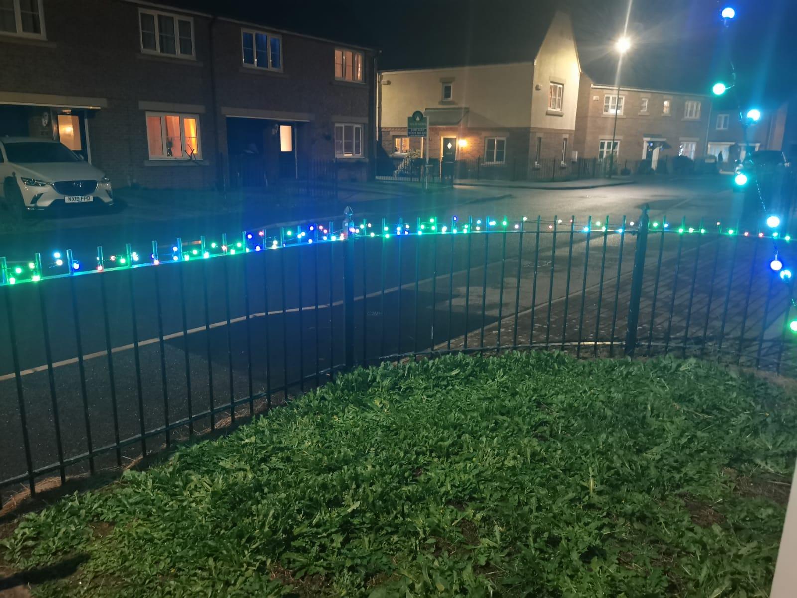 Picture of garden lights